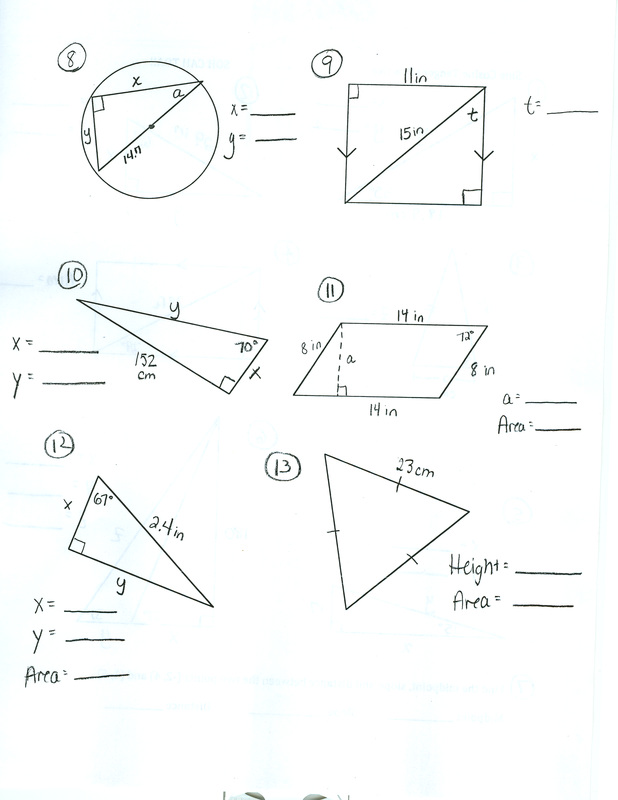 UNIT 6: Trigonometry - Carroll High School Geometry -Mrs ...